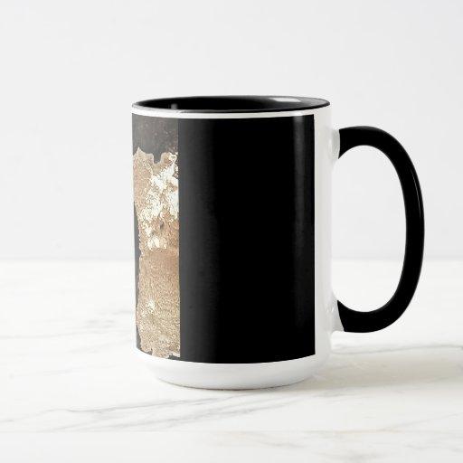 Mug with Downy Woodpecker