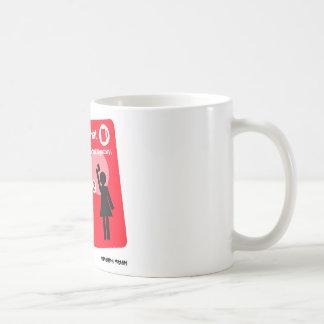 Mug with Emergency Hat instructions