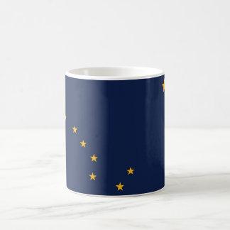Mug with Flag of  Alaska State - USA
