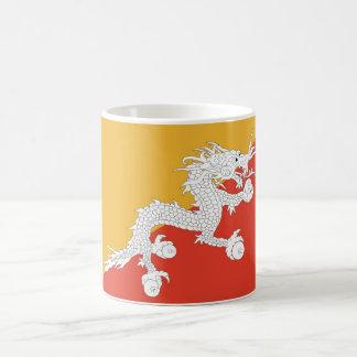 Mug with Flag of Bhutan