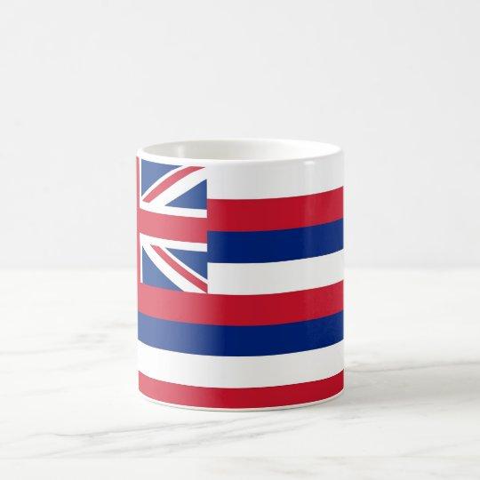 Mug with Flag of  Hawaii State - USA