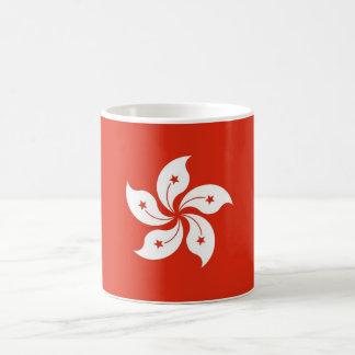 Mug with Flag of Hong Kong, China