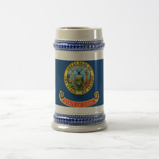 Mug with Flag of  Idaho State -USA