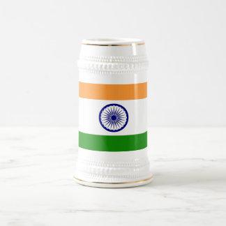 Mug with Flag of India