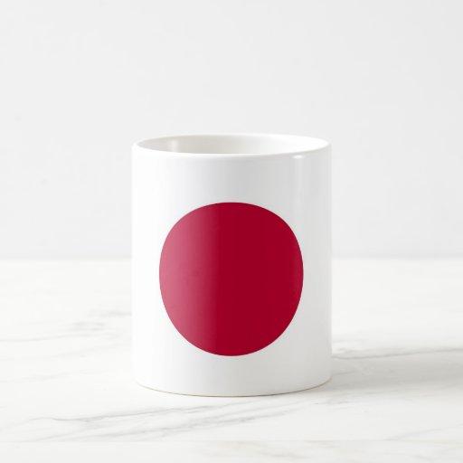 Mug with Flag of Japan