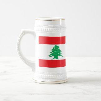 Mug with Flag of Lebanon