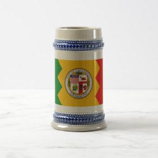 Mug with Flag of Los Angeles, California