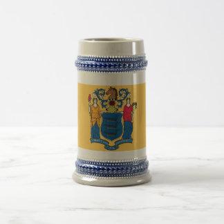 Mug with Flag of New Jersey State -USA