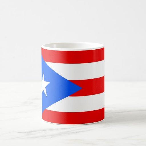 Mug with Flag of Puerto Rico - USA