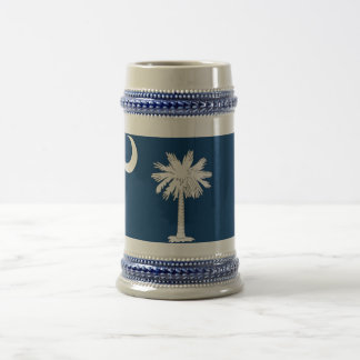 Mug with Flag of South Carolina State -USA