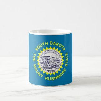 Mug with Flag of South Dakota State - USA
