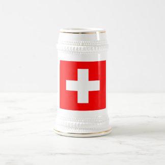 Mug with Flag of Switzerland