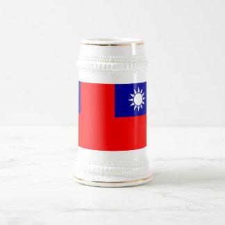 Mug with Flag of Taiwan