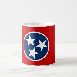 Mug with Flag of Tennessee State - USA