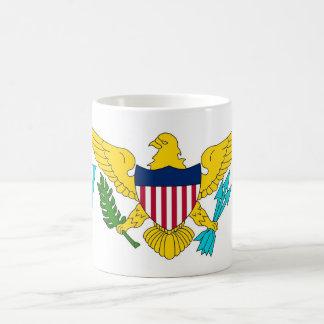 Mug with Flag of Virgin Islands - USA