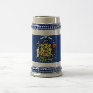 Mug with Flag of Wisconsin State -USA