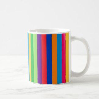 Mug with Fun Bold and Colorful Stripes