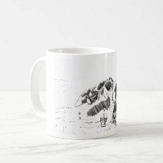 Mug with Funny comic art