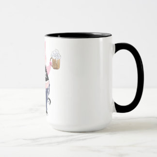 Mug  with funny pig picture