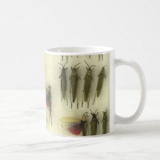 Mug with grasshoppers