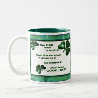 Mug with Irish Saying