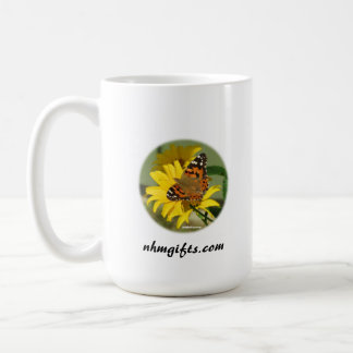Mug with Monarch Butterfly