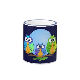 Mug with owls