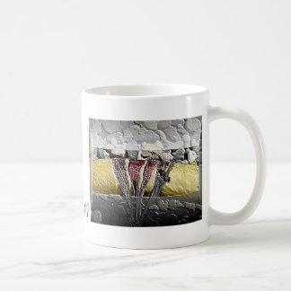 Mug with painted Kelp