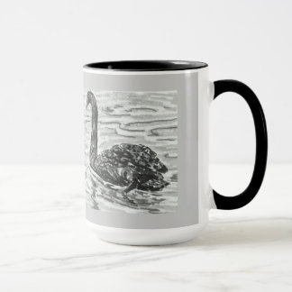 Mug with Pair of black swans