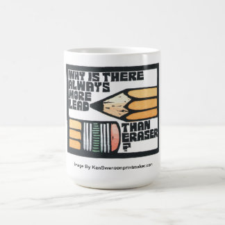Mug with Pencil Design By Ken Swanson