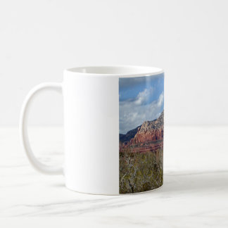 mug with photo of Arizona red rocks