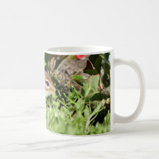 mug with photo of cute chipmunk