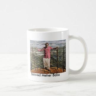 Mug with poainting of Meher Baba