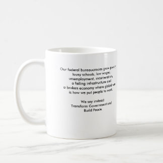 Mug with Political Quote