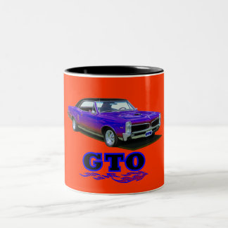 """Mug with """"Pontiac GTO"""""""