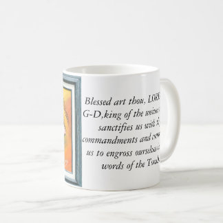 Mug with powerful blessing.