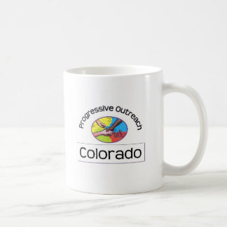 Mug with right-handed logo