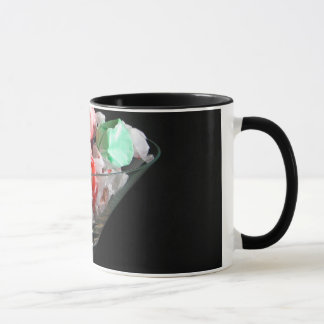 Mug with salt water taffy