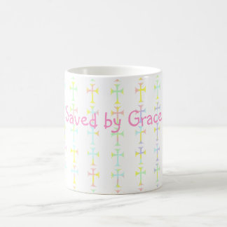 "Mug with ""Save by Grace Message"""