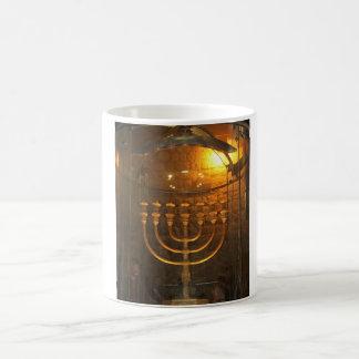 mug with seven candle
