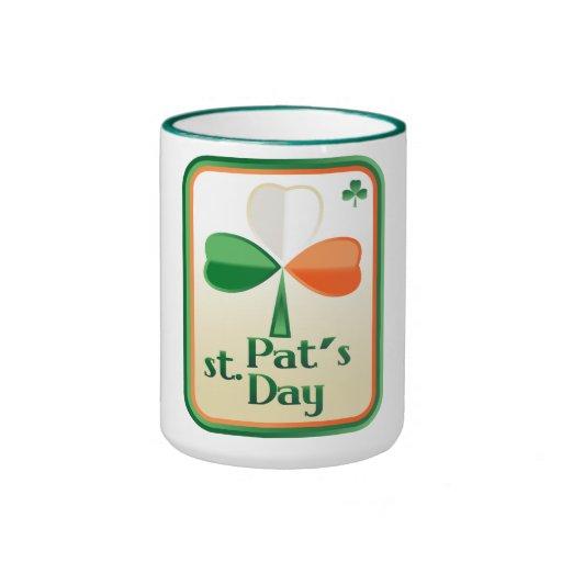 Mug with St. Patrick's  card