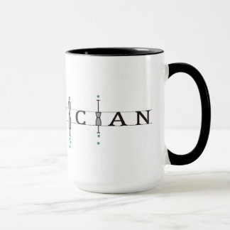 "Mug with ""Statistician"" logo"