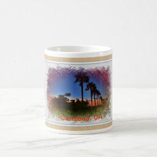 Mug with Sunset Carlsbad, CA