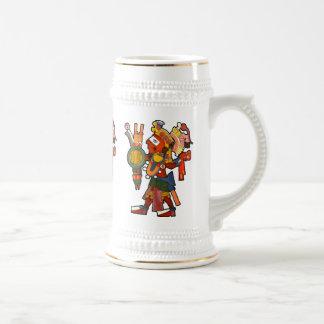 Mug with the cheerful company of the indian Maya w