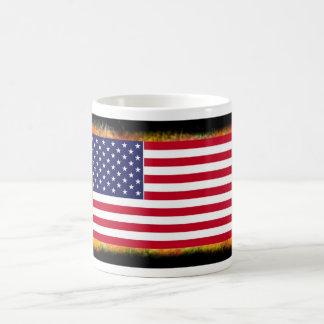 Mug with U S flag
