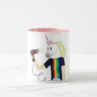 Mug with unicorn