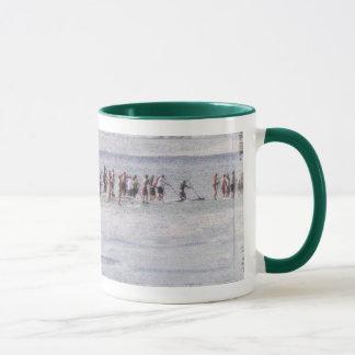 Mug with vintage  Stand-Up Paddlers