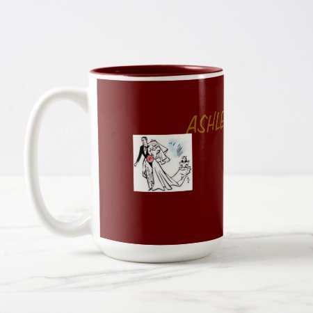 Mug With Wedding Rings