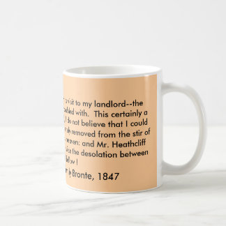 Mug, Wuthering Heights by Emily Bronte, 1847