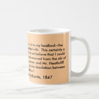 Mug, Wuthering Heights by Emily Bronte, 1847 Classic White Coffee Mug